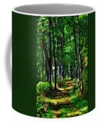 Summer Forest In Ohio Coffee Mug