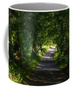 Summer Forest Road Coffee Mug