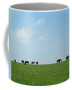 Summer Grazing Coffee Mug by Roger Potts