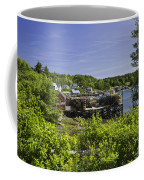 Summer In South Bristol On The Coast Of Maine Coffee Mug