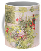 Summer In Sundborn Coffee Mug by Carl Larsson