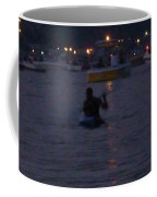 Summer Lake Evening Wait Coffee Mug