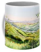 Summer Landscape Inspiration Point Orinda California Coffee Mug