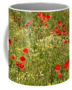 Summer Meadow Background Coffee Mug