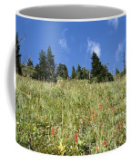 Summer Mountain Landscape Coffee Mug
