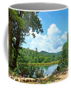 Summer Mountain Pond 2 Coffee Mug