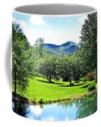 Summer Pond And The Blueridge Coffee Mug