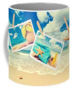 Summer Postcards Coffee Mug