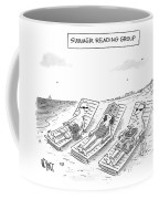 Summer Reading Group -- Three Beach Goers Lounge Coffee Mug