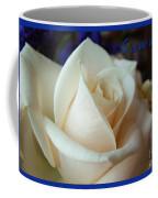 Summer Rose Sapphire Border Coffee Mug