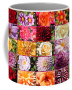 Summer Roses And Dahlias 2013 Coffee Mug