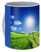 Summer Rural Landcape Coffee Mug