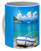 Summer Sailing In The Med Coffee Mug