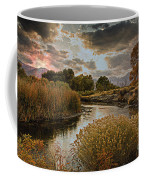 Summer Sets On The Gunnison River Coffee Mug