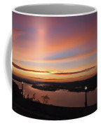 Summer Skies At Crown Point Coffee Mug