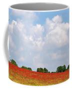 Summer Spectacular - Red Kites Over Poppy Fields Coffee Mug