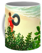 Summer Swim Coffee Mug