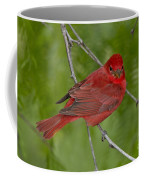 Summer Tanager Male Coffee Mug