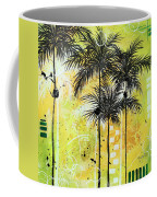 Summer Time In The Tropics By Madart Coffee Mug