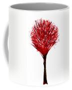 Summer Tree Painting Isolated Coffee Mug