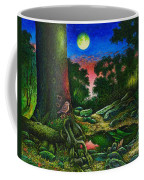 Summer Twilight In The Forest Coffee Mug