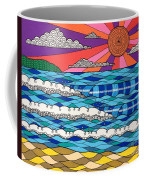 Summer Vibes Coffee Mug by Susan Claire