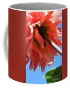 Summer's End Dahlia Coffee Mug