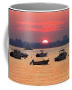 Late Summer Sunset Over The Bay Coffee Mug