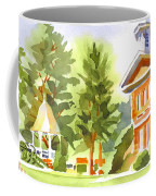 Summers Morning On The Courthouse Square Coffee Mug