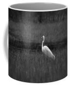 Summer's Night Egret Coffee Mug