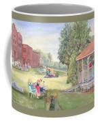 Summertime At The Gazebo Coffee Mug