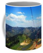 Summertime Chairlift Ride Coffee Mug