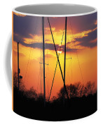 Sun And Masts Coffee Mug