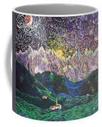 Sun And Moon Night Coffee Mug