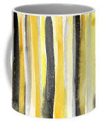 Sun And Shadows- Abstract Painting Coffee Mug