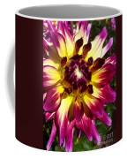 Sun Burst Purple Dahlia Coffee Mug