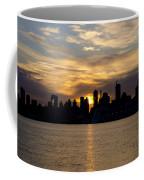 Sun Comes Up On New York City Coffee Mug