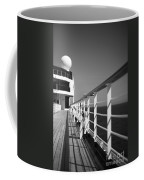 Sun Deck Shadows Coffee Mug