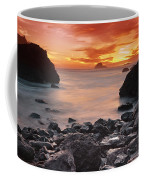 Sun Descends On Northcoast Coffee Mug