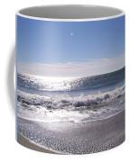 Sun Diamonds On The Surf Coffee Mug