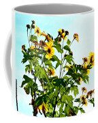 Sun Flowers In The Sun Coffee Mug