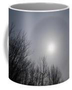 Sun Halo Through The Trees Coffee Mug