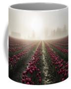 Sun In Fog And Tulips Coffee Mug