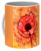 Sun Kissed Poppy Coffee Mug