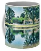 Sun Lakes Oil Coffee Mug