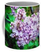 Sun Lit Lilac The Sweet Sign Of Spring Coffee Mug