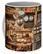 Sun Motor Tester Coffee Mug by Debra and Dave Vanderlaan