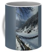 Sun On A Snowy Meadow Coffee Mug