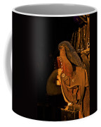 Sun On Leather Horse Saddle In Tack Room Equestrian Fine Art Photography Print Coffee Mug