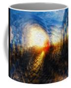 Sun On The Horizon Coffee Mug